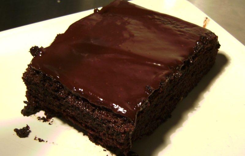 That Lenten Chocolate Cake
